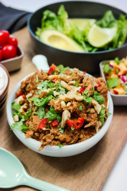Who needs meat? Med denne tacoblandingen av linser og valnøtter er tacofredagen safe!