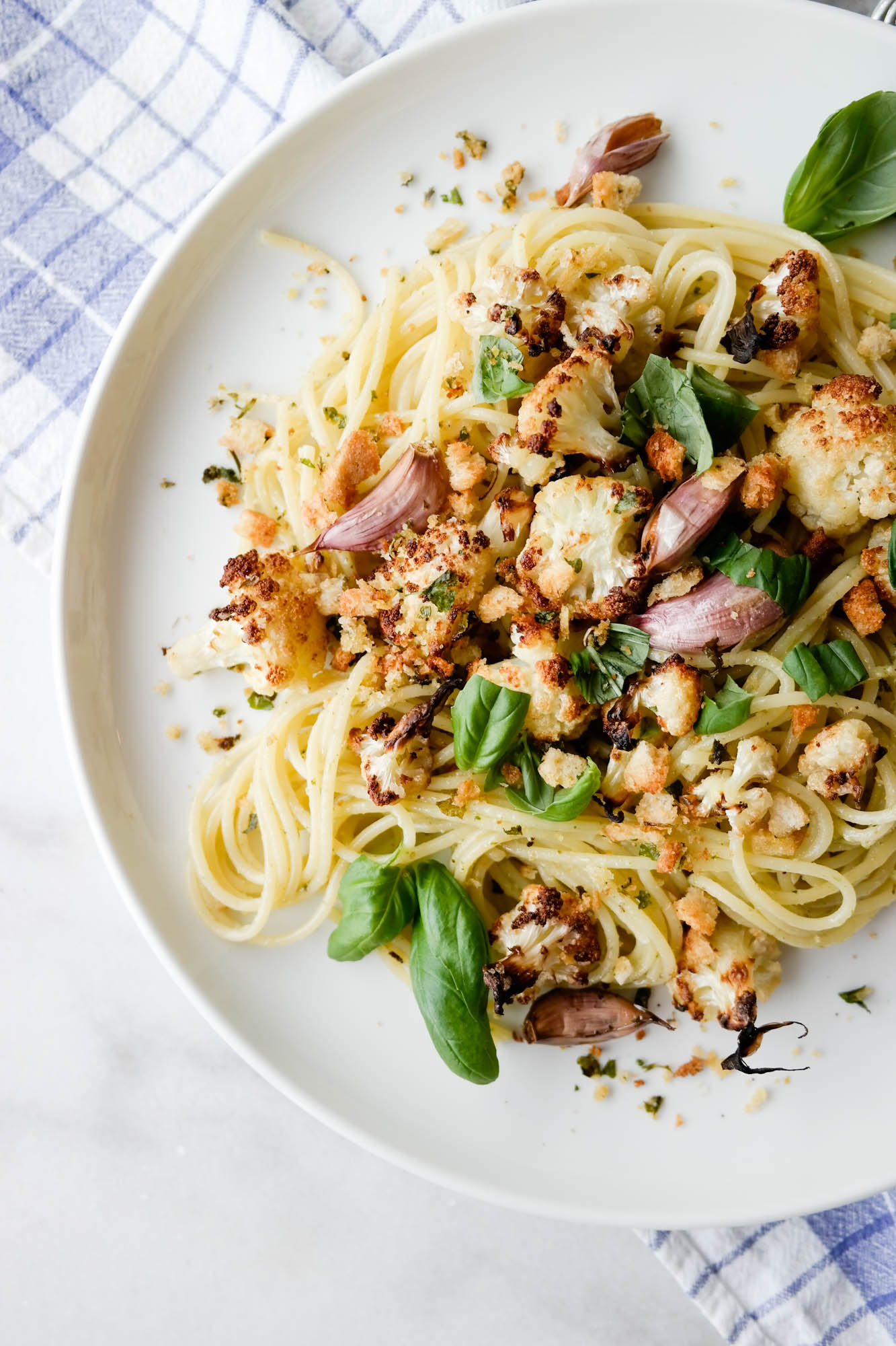 Blomkål og spaghetti sammen, sier du? Hell yes!