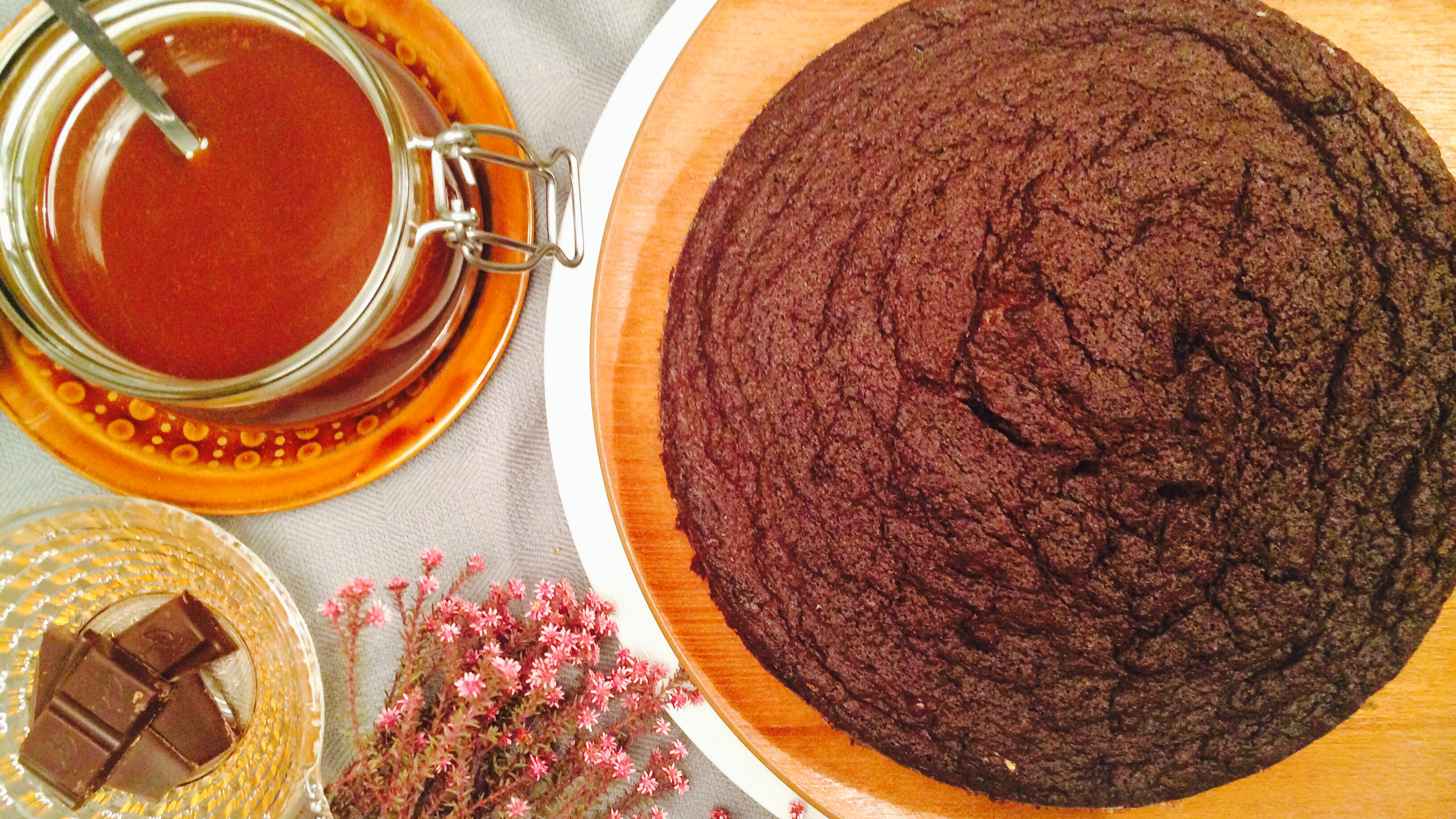 Mørk browniekake