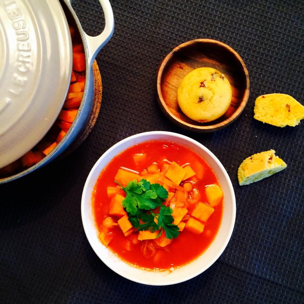 chilli av fem ingredienser - Green Bonanza