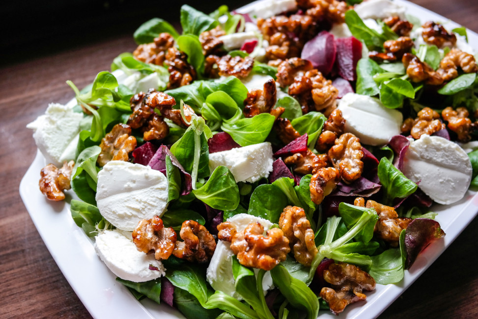 salater oppskrifter trines