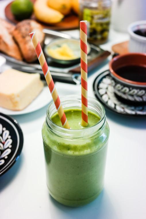 Trenger du inspirasjon til sunne, grønne og gode smothies? Her får du fire varianter!