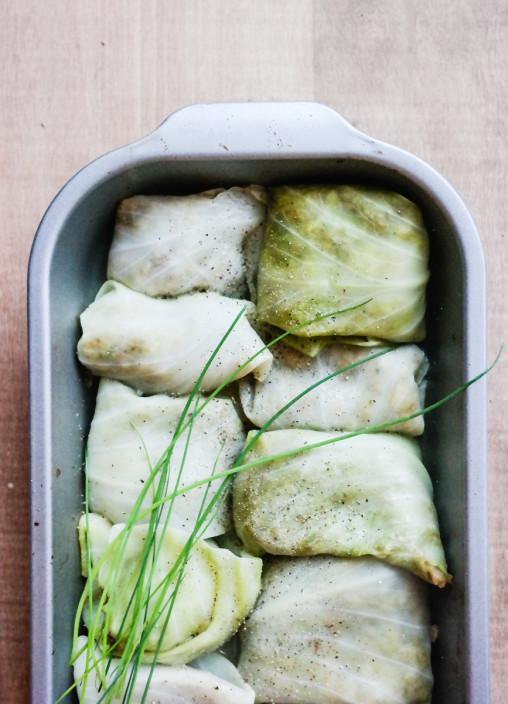 Gi norsk tradisjonskost et nytt og vegetarisk liv! I disse kålrulettene er det overraskende mange gode smaker.