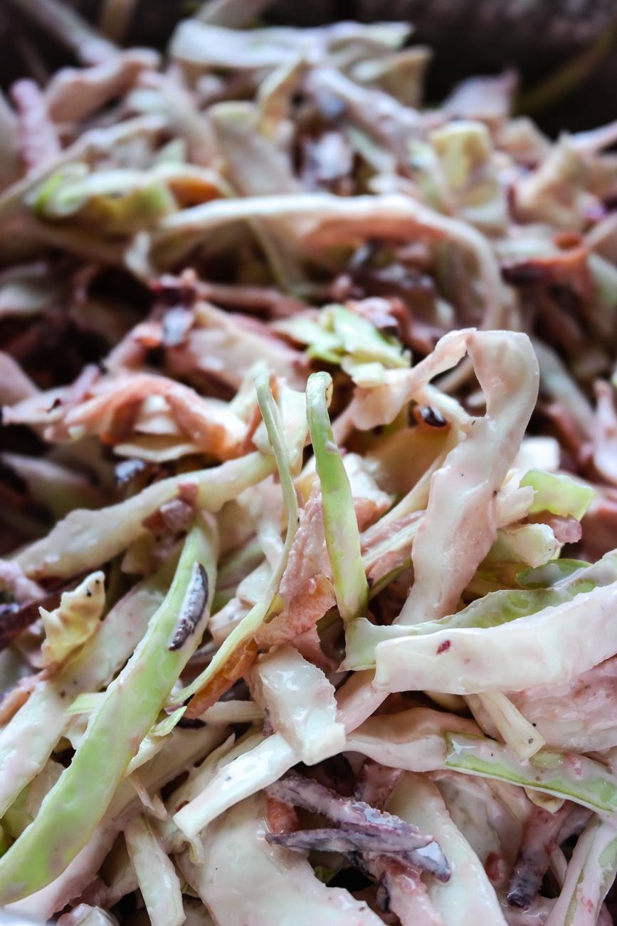 Coleslaw er godt til alt. True story.