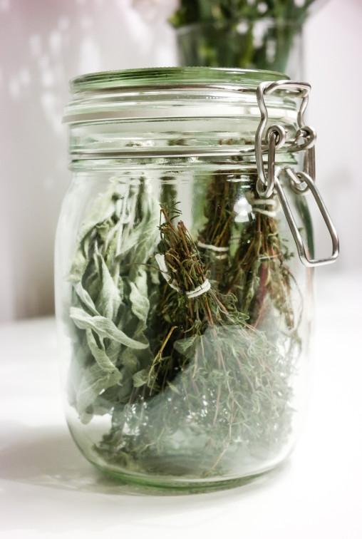 Tørke urter selv