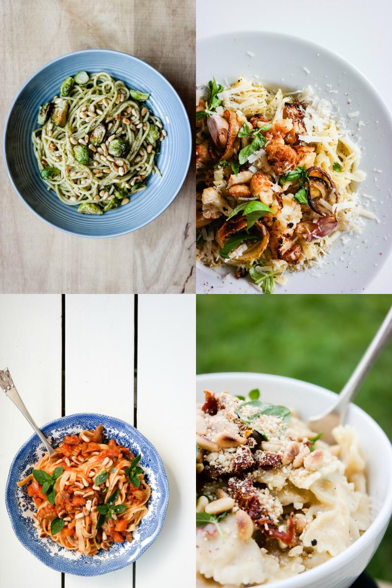 Glad i pasta? Her er 10 favoritter.