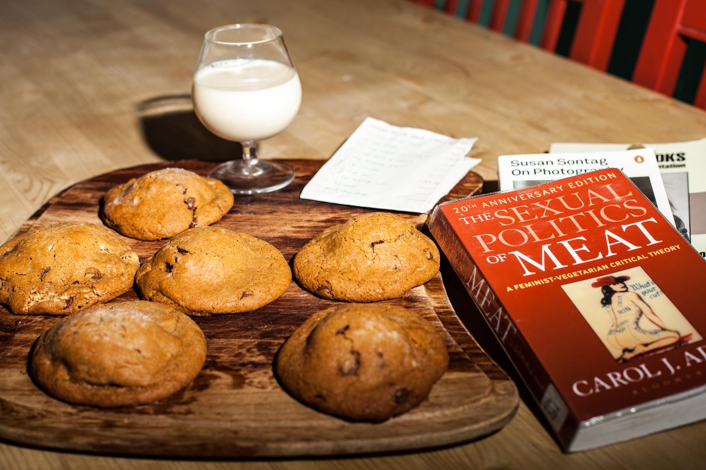 Sally fra vegan norway lager de beste cookies ever - og jeg har fått dele oppskriften!