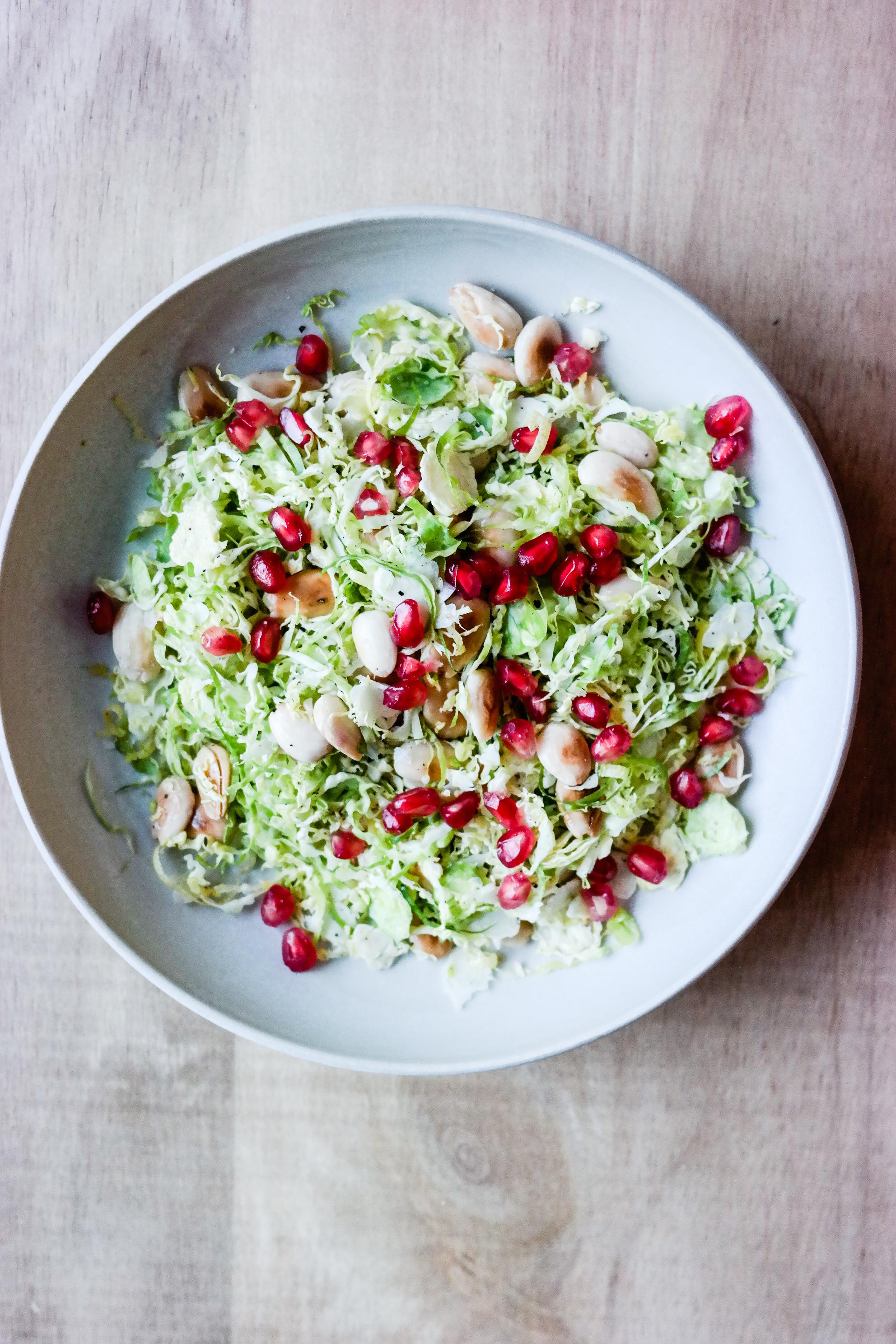 Rosenkålsalat til julematen = alt du ikke visste du ønska deg!