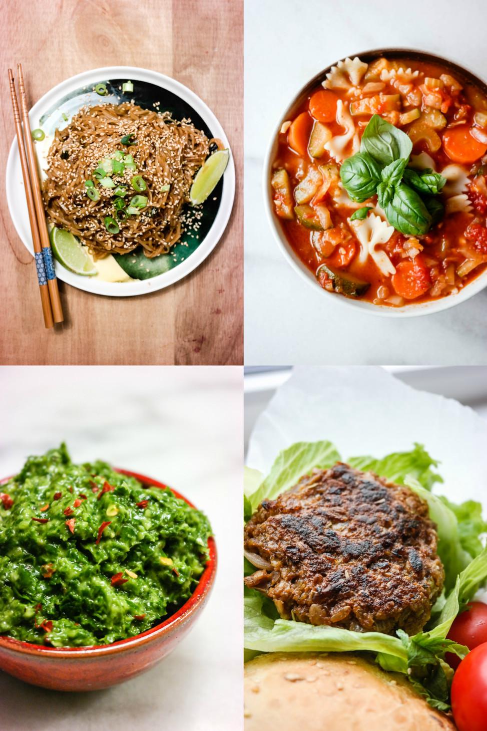 Grønn ukemeny, vegansk mat fra Green Bonanza