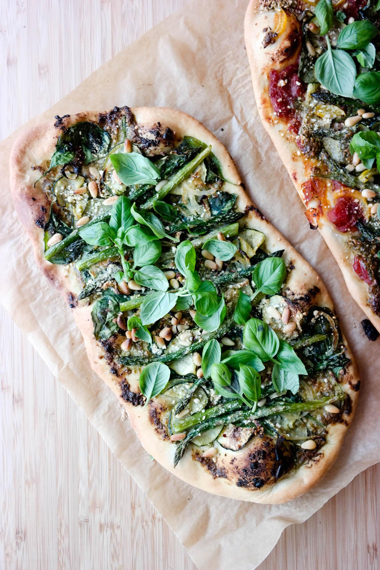 Grønn pizza er min all time-fav pizza! Fordi alt som er grønt er godt, vet du.