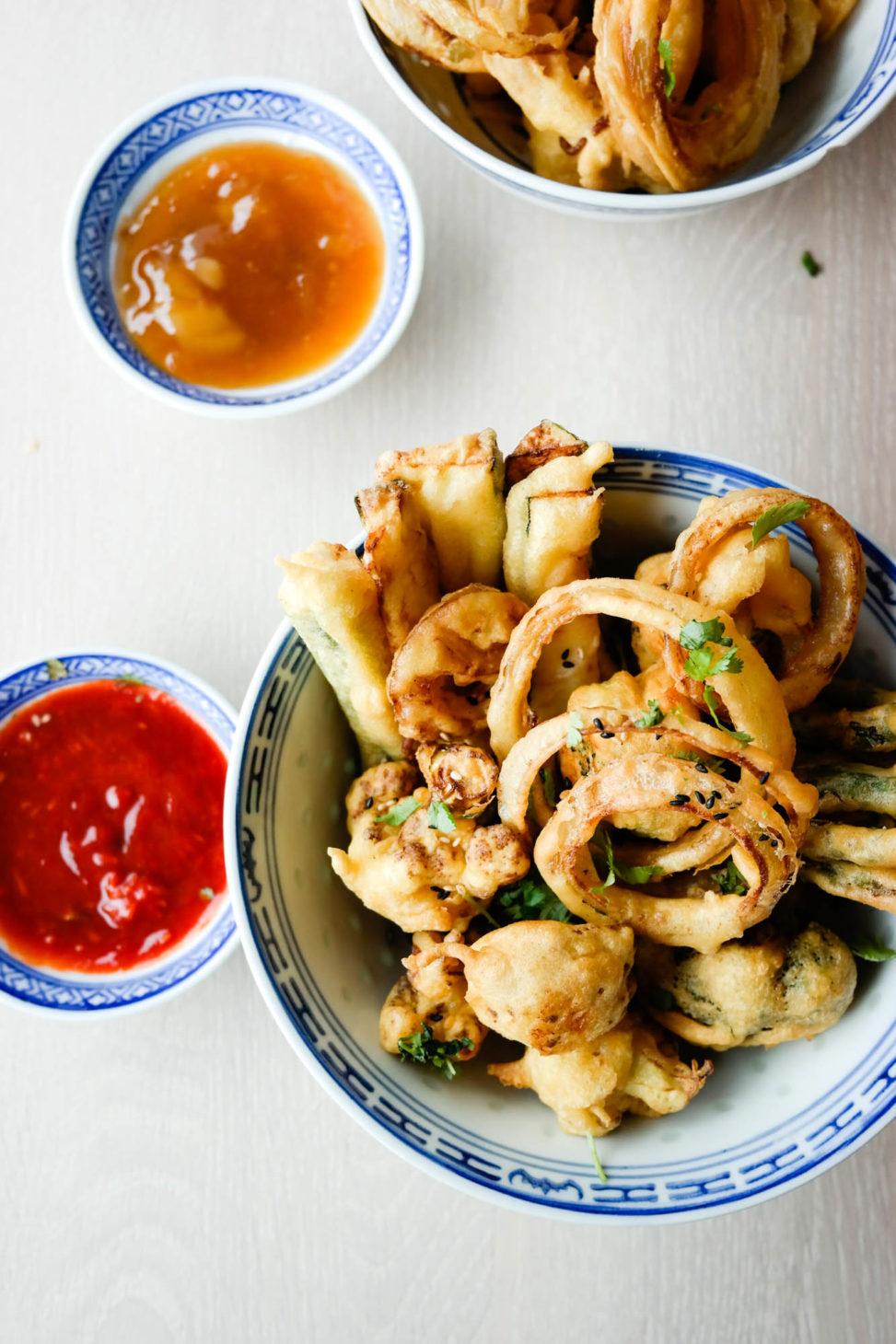 Du må ikke spise ute for å spise grønnsakstempura - lag den helt perfekt hjemme hos deg selv!