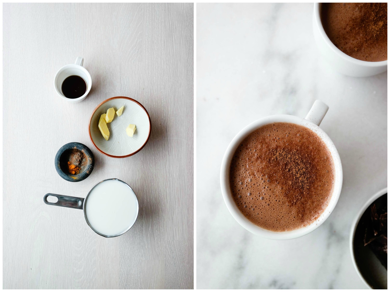 Det trenger ikke være gløgg - gå for gullmelk eller varm sjokolade til julekosen!