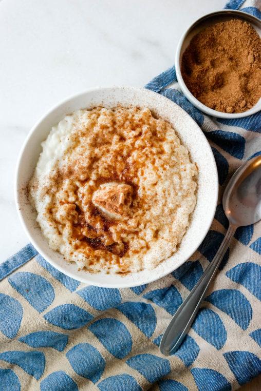 Risengrynsgrøt hører jula til - også når den kokes uten melk!
