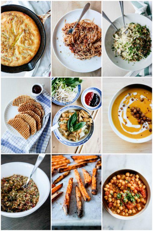 Vil du ha inspirasjon til å spise litt grønnere i 2018? Her er de mest leste oppskriftene fra 2017!