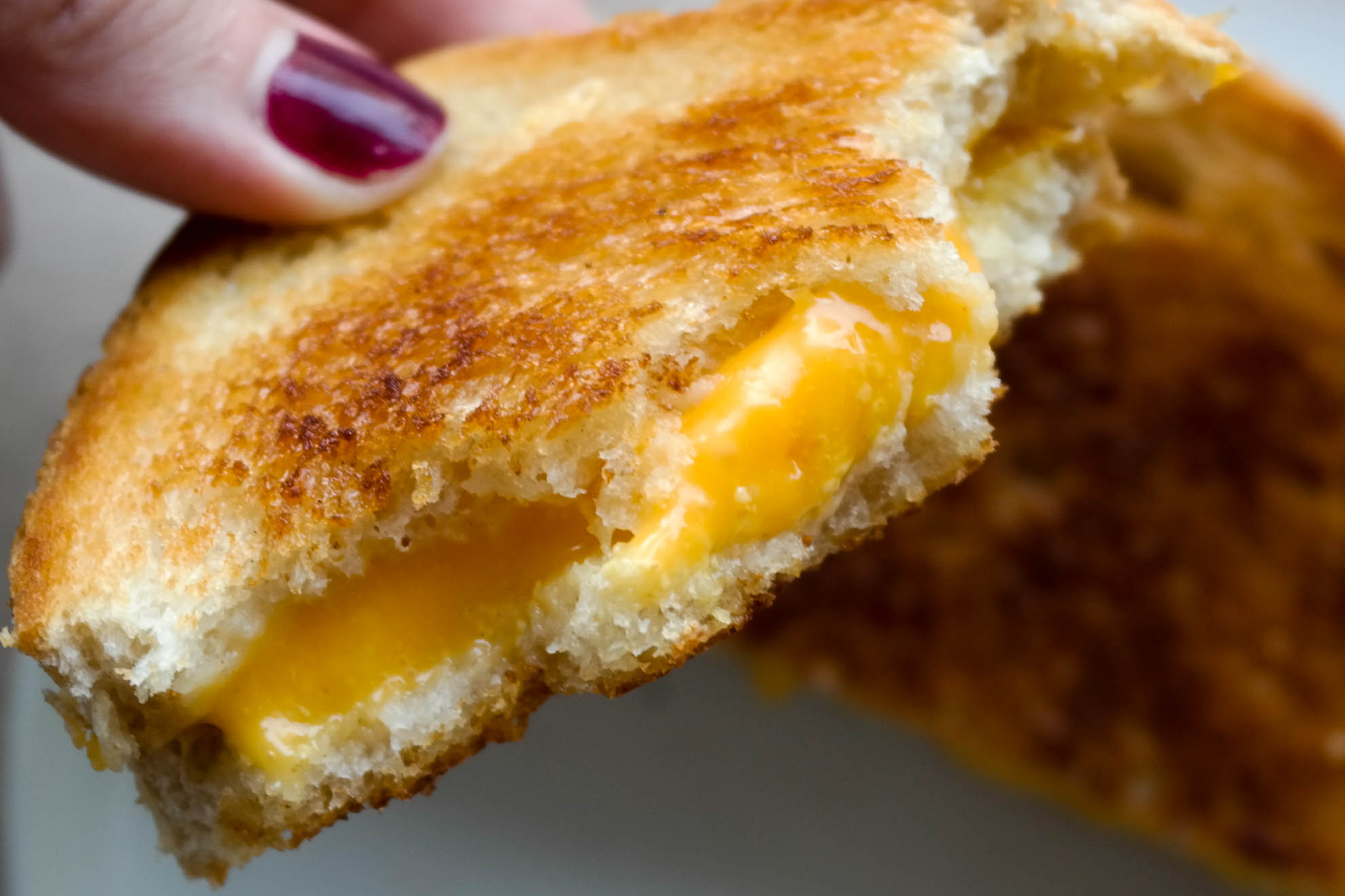 Vegansk ostesmørbrød